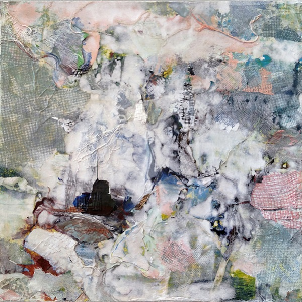 nurit avesar, abstract art, mixed media, mixed media painter, studio channel islands, immigration