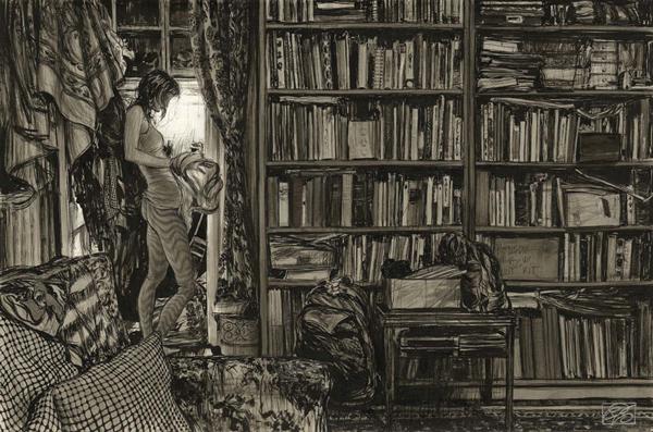 "Dorian Vallejo, ""A Thousand Evenings"" @ Haven Gallery, Long Island, New York - via beautiful.bizarre"