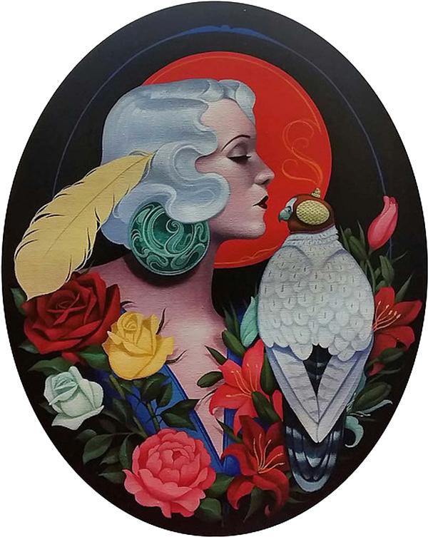 Gustavo Rimada, 'The Falconer' @ Haven Gallery - via beautiful.bizarre