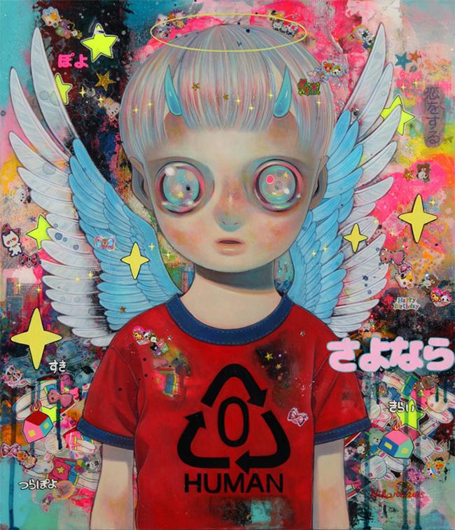 Reishi no Tenshi (Angel of History) by Hikari Shimoda @ Corey Helford Gallery via beautiful.bizarre