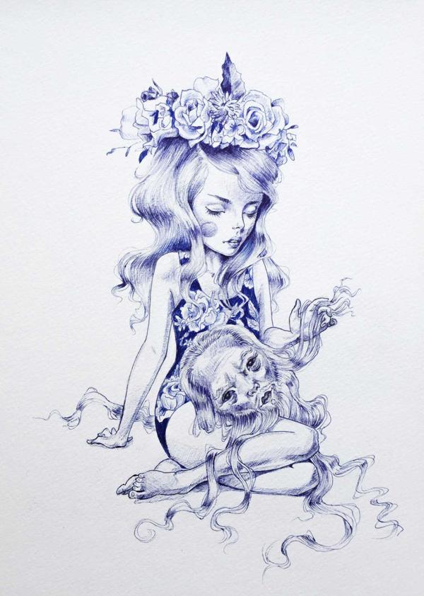 Julie Filipenko, 'Chinese Proverb' @ Haven Gallery - via beautiful.bizarre