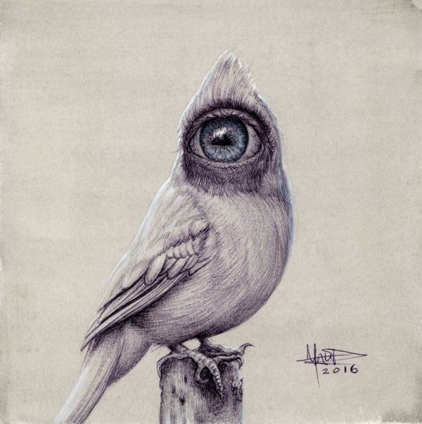 "Matt Dangler, ""Searching Within"" @ Haven Gallery - via beautiful bizarre"