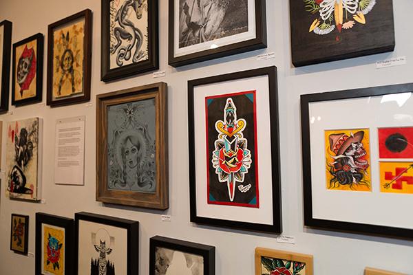 Warriors Fund, Eight of Swords, tattoo art