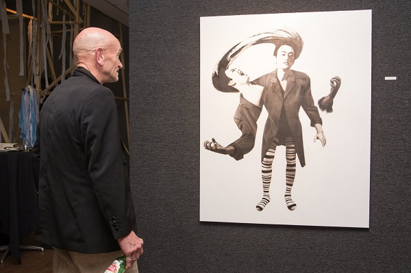 michael pearce, the clouty tree the devil and me, clouty tree, kwan fong gallery, cal lutheran university