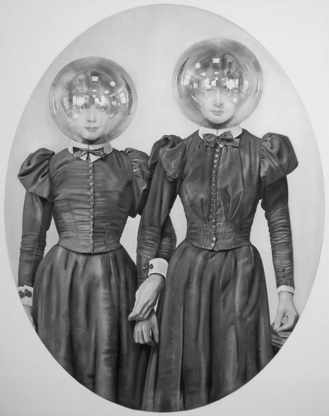 "Zoe Byland, ""Sisters"" - Haven Gallery @ Scope New York 2016"