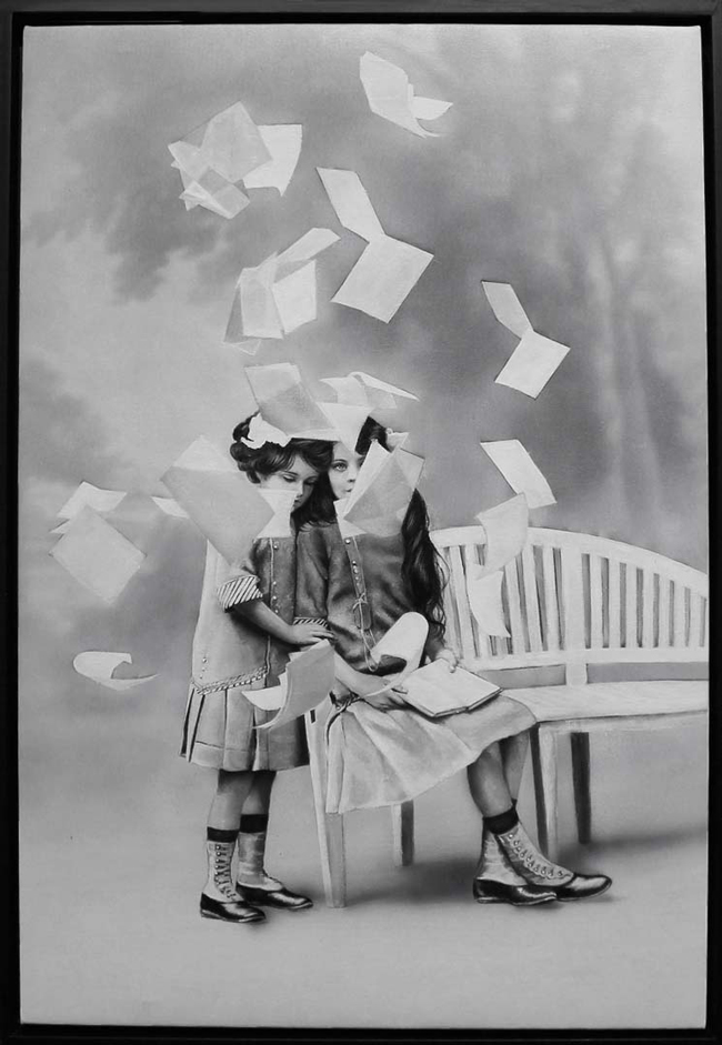"""Zoe Byland, """"Girls and pages"""" - Haven Gallery @ Scope New York 2016"""