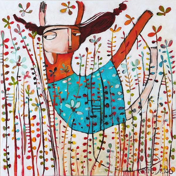 Janine Daddo_Fly Through The Flowers 100x100_beautifulbizarre_08