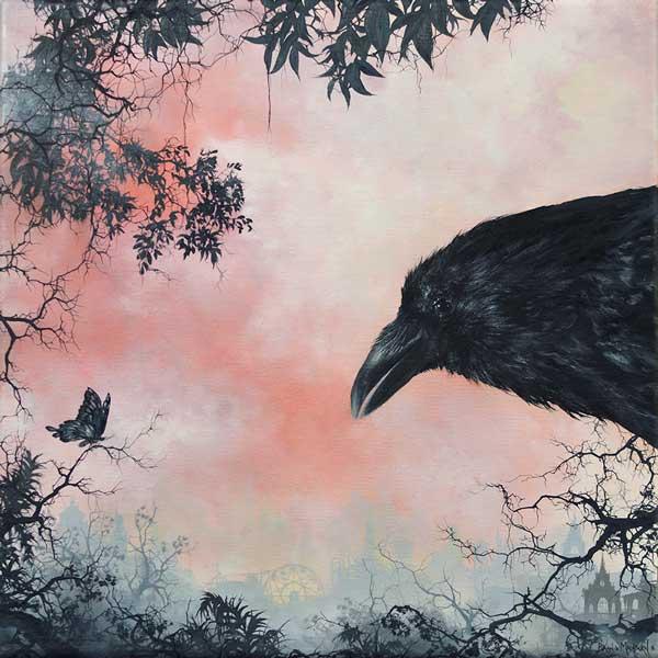 Brian Mashburn - The Four Seasons Group Exhibition @ Haven Gallery - via beautiful.bizarre