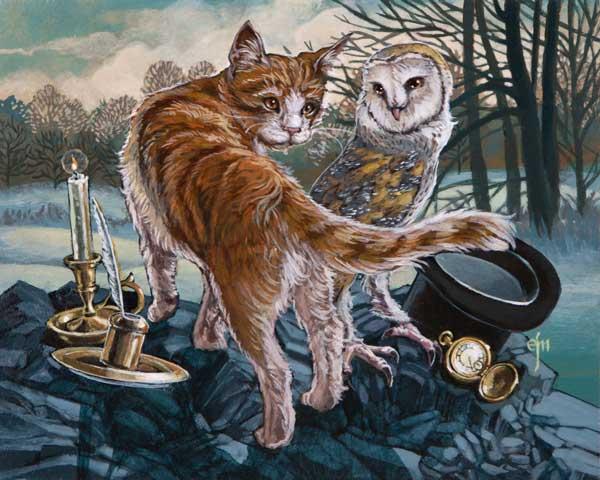 Erich J Moffitt - The Four Seasons Group Exhibition @ Haven Gallery - via beautiful.bizarre