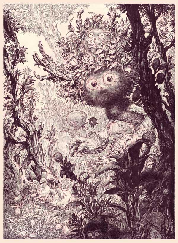 Stan Manoukian - The Four Seasons Group Exhibition @ Haven Gallery - via beautiful.bizarre