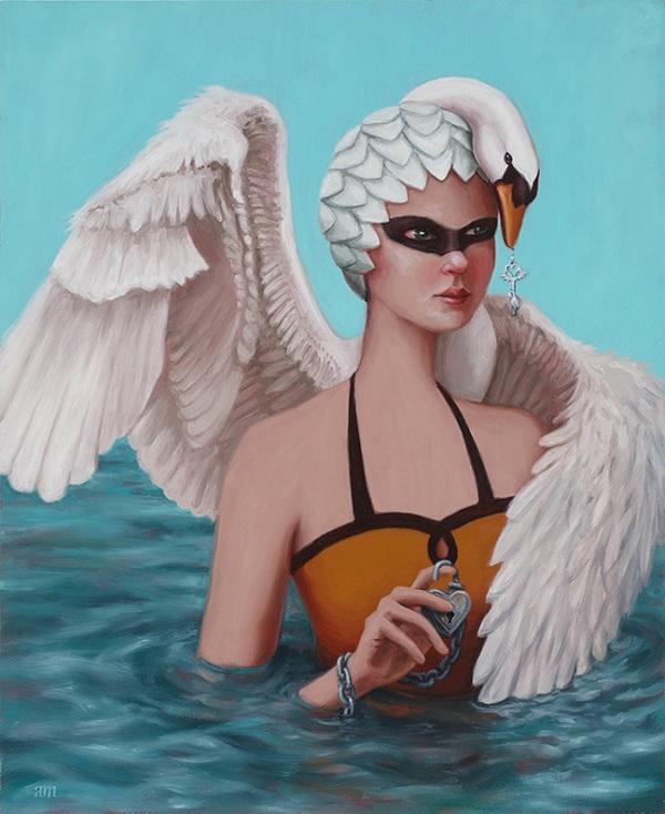 Anna Magruder_Swan Maiden_beautifulbizarre_04