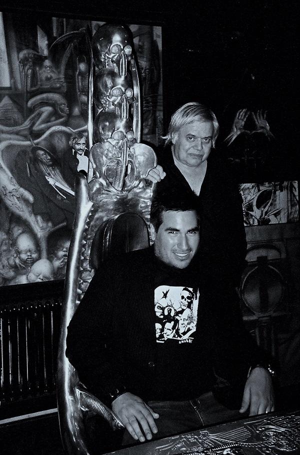 BRIAN VIVEROS & HR GIGER 2005_beautifulbizarre_06