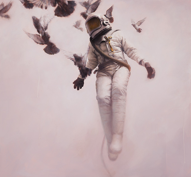 Jeremy Geddes painting
