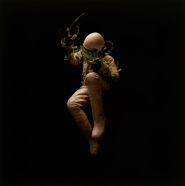 Jeremy Geddes surreal realism astronaut painting