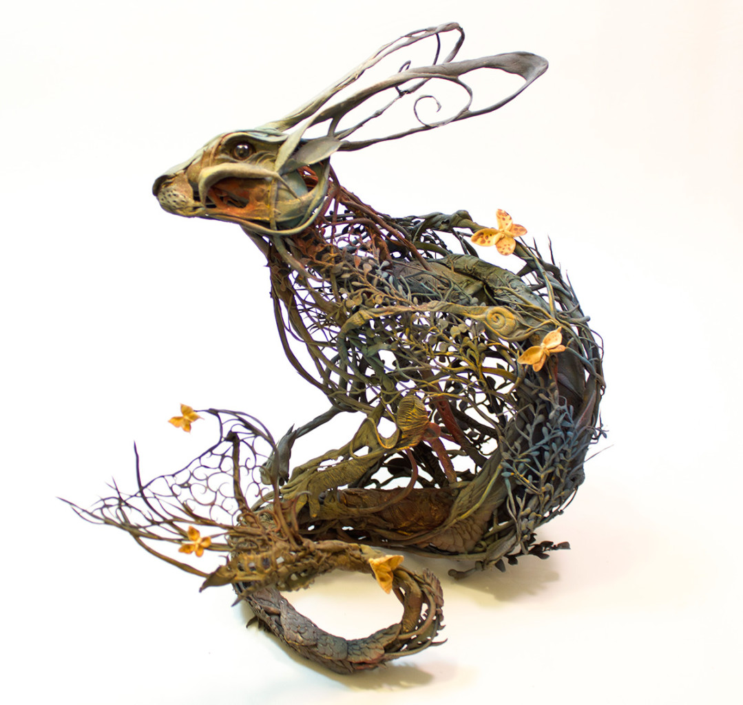 Ellen Jewett surreal animal sculptures