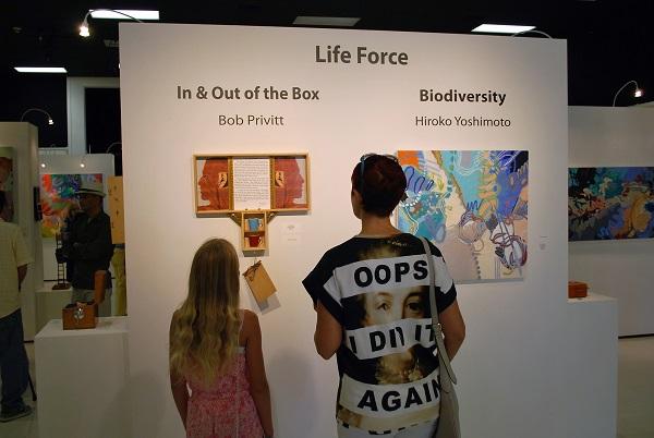 hiroko yoshimoto, life force, biodiversity, bob privitt, assemblage