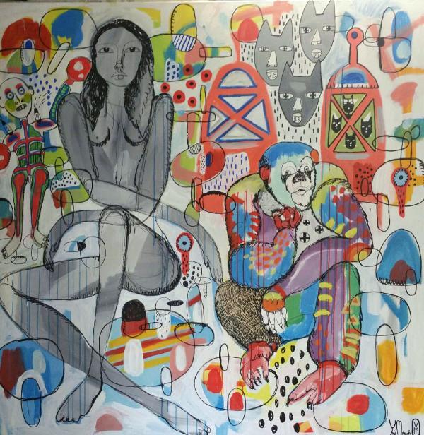 yosi-messiah-bus-stop-183x183-mixed-media-on-canvas_beautifulbizarre_10