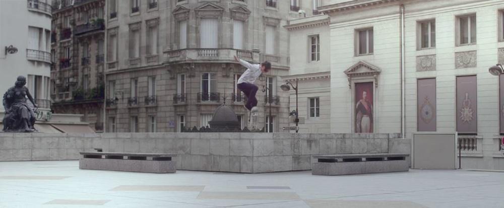 projection, skateboarding