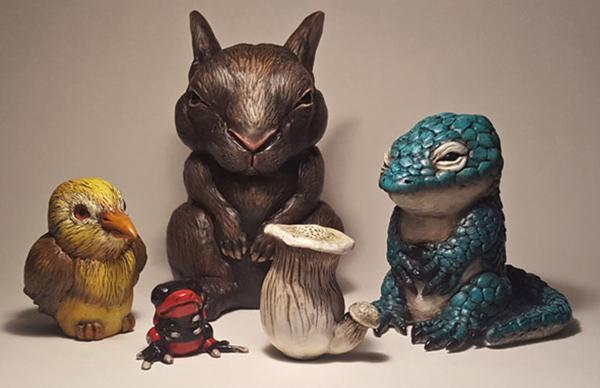 julie_fillipenko_beautifulbizarre_005 Little Big II Annual Small Works Group Show @ Haven Gallery - via beautiful.bizarre