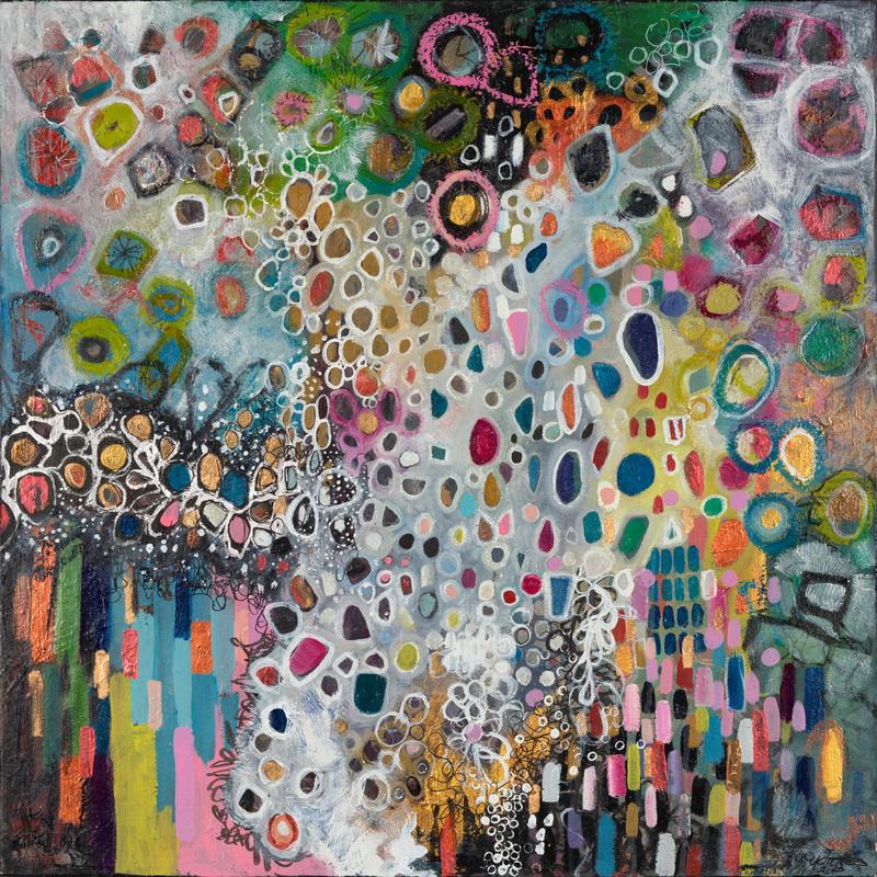 Kacy_Latham's abstract colorful dots