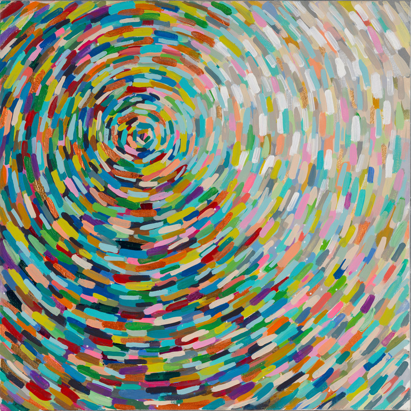 Kacy_Latham's color abstract painting