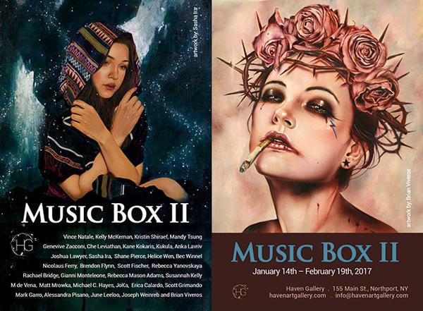 Music Box II @ Haven Gallery - via beautiful.bizarre