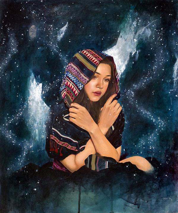 Sasha Ira, Music Box II @ Haven Gallery - via beautiful.bizarre