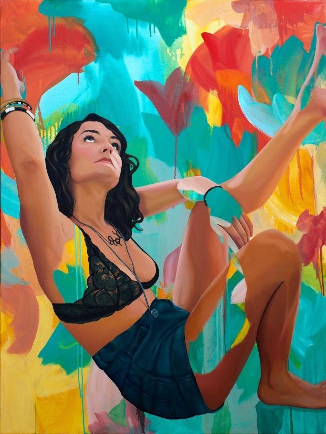 Kim Leutwyler fine art portrait