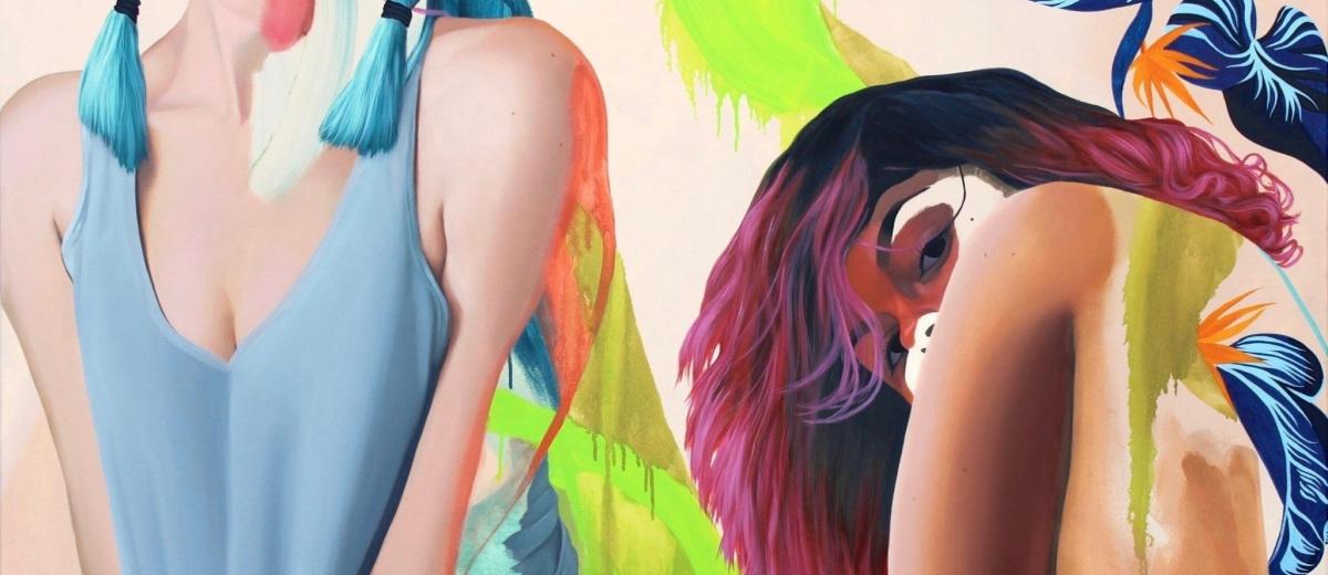 Kim Leutwyler fine art painting