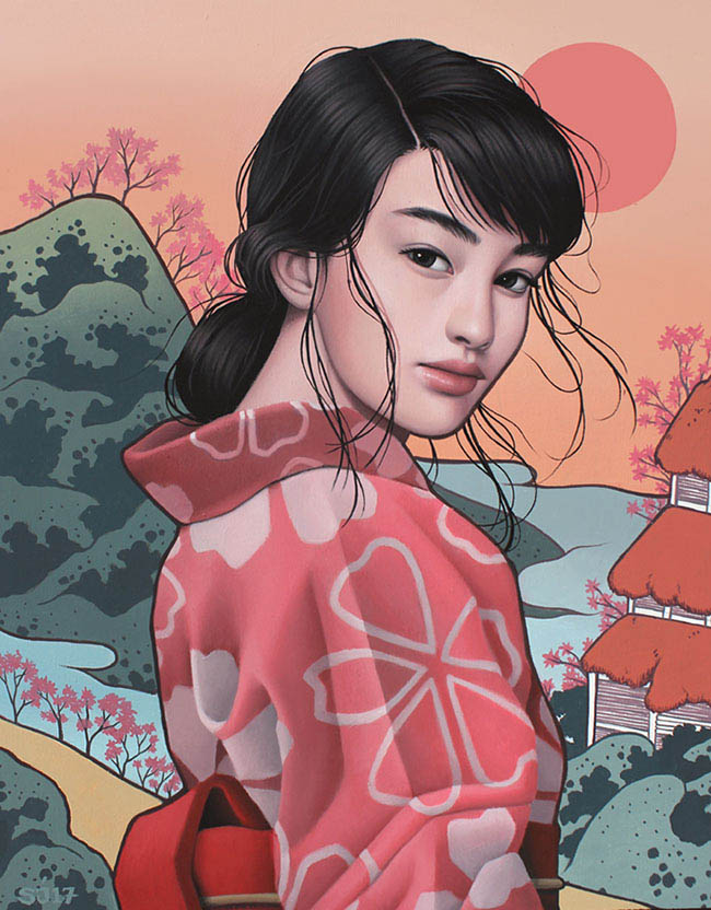 Sarah Joncas Crisp Blend of Modern Zen