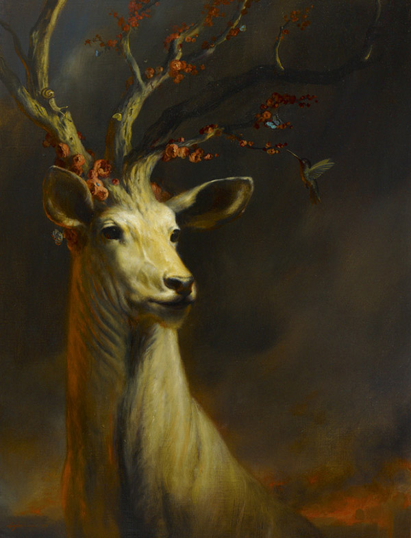 Martin Wittfooth surreal animal painting