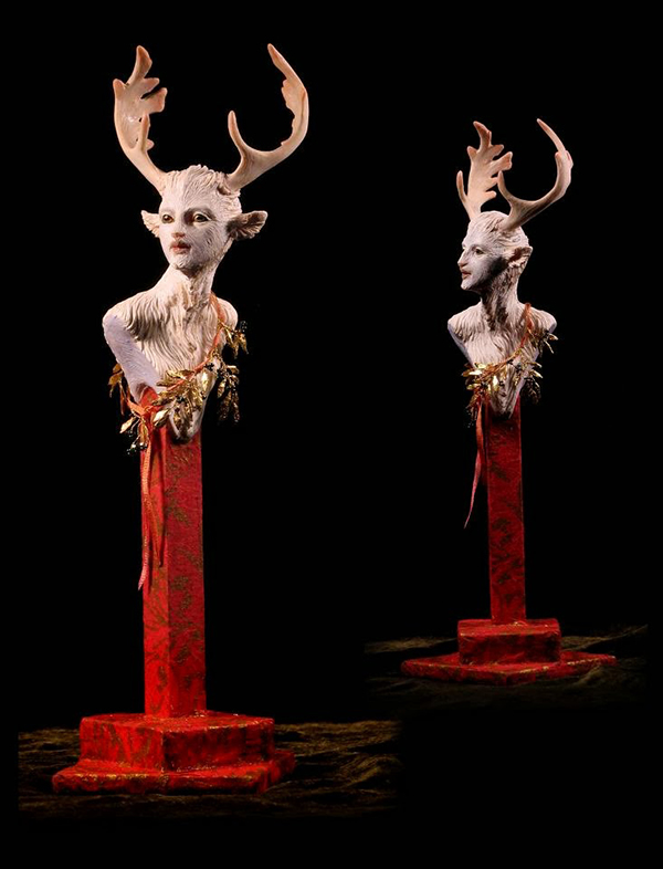 Forest Rogers surreal animal sculpture