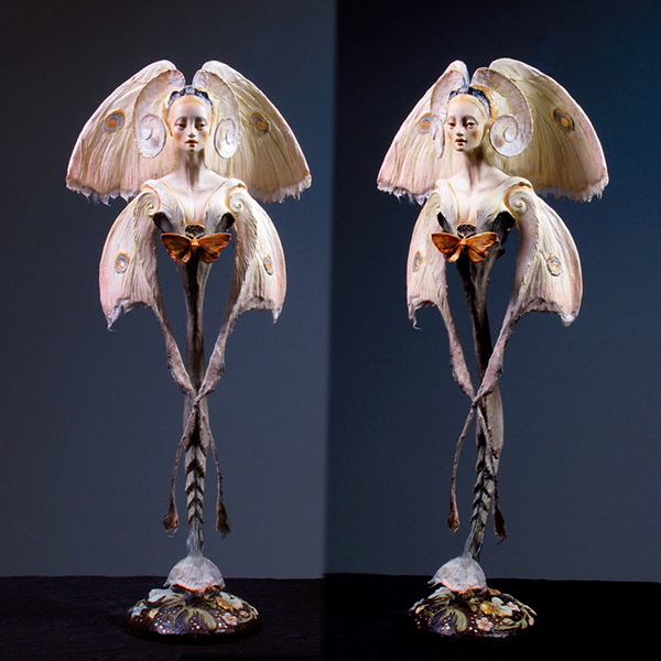 Forest Rogers surreal sculpture