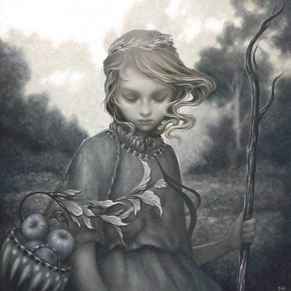 Amy Sol pop surrealism painting