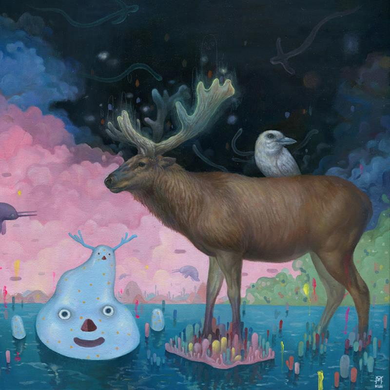 KiSung Koh animal paintings
