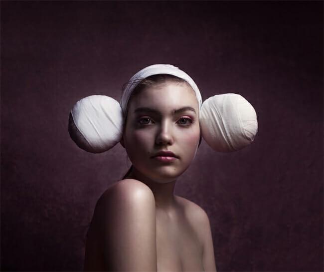 Jenny Boot surreal female portrait photography