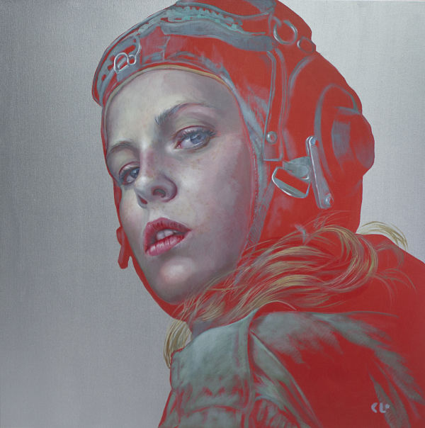 figurative painting, The Protagonist, Kathrin Longhurst, painting