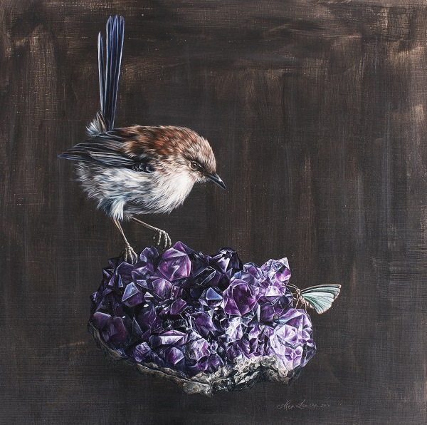 art, artist, beautiful bizarre magazine, art magazine, Alex Louisa, painting, nature, contemporary art