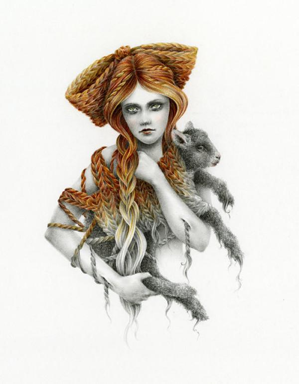 Courtney Brims gaia of the art world