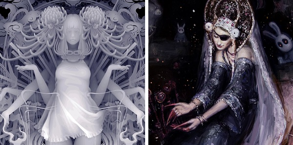 Kazuki Takamatsu & Nadezda's work in progress for Gaia Reborn art exhibition