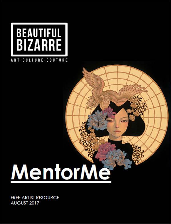 pop surrealism artist audrey kawasaki mentor beautiful bizarre magazine