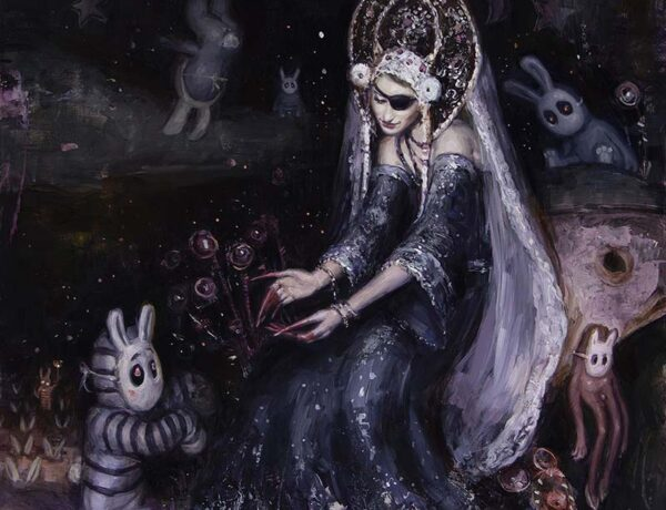 Nadezda - gaia reborn exhibition - surreal painting