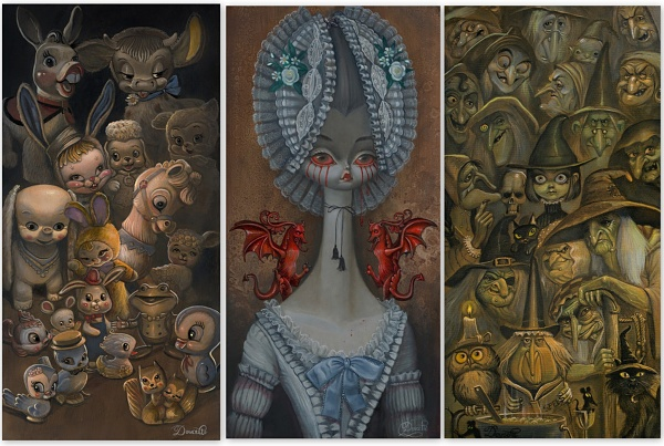 Bob Doucette paintings
