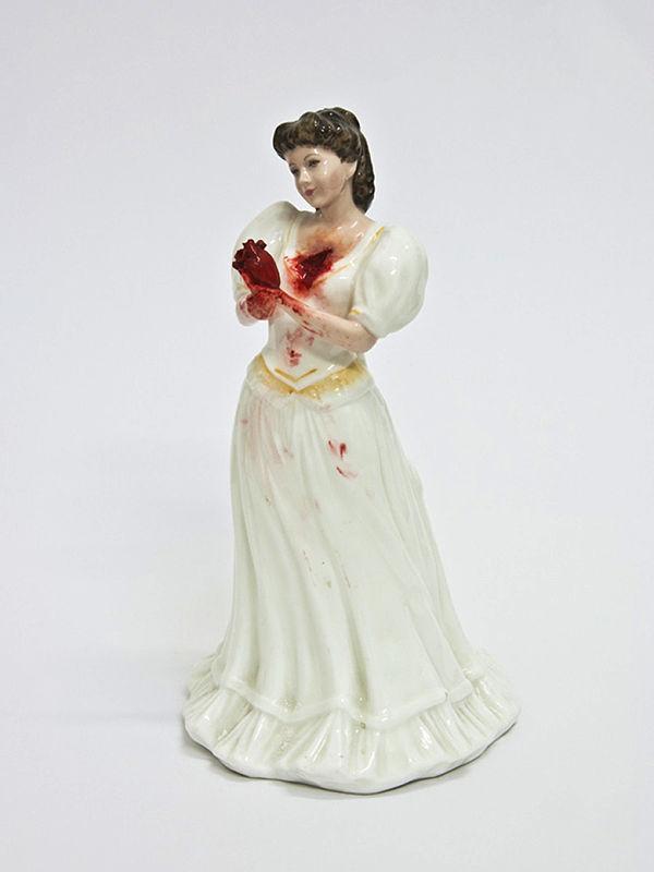 Jessica Harrison porcelain macabre sculpture
