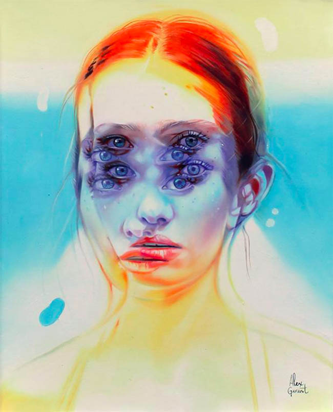 Alex Garant surreal portrait painting - How Do Artists Get Their Work Seen/Shown by a Gallery?