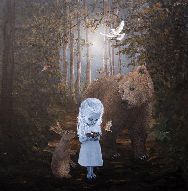 Anne Juul Christophersen nature surrealism animals