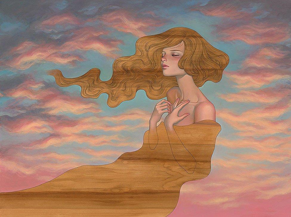 Audrey Kawasaki pop surrealism painting
