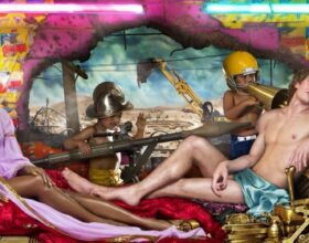 David LaChapelle Naomi Campbell Consumerism Environment Rape of Africa