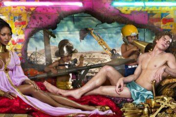 David LaChapelle Naomi Campbell Consumerism Environment Rape of Africa