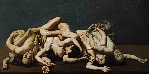 Roberto Ferri surreal figurative nude art